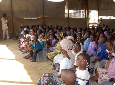 Children Class During the Confab