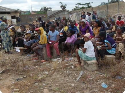 Teenager Seminar Class During the Confab