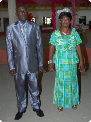 Delegate from Ghana Branch
