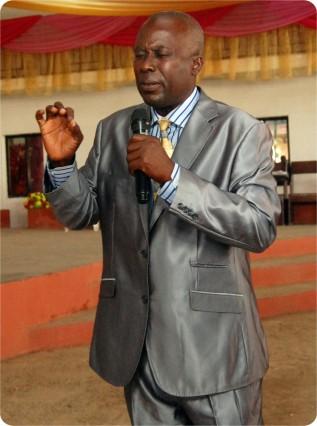 Delegate from Ghana(Pastor Gabriel Sanyade}