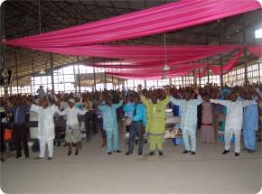 Congregation during Confab