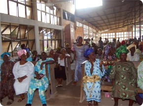 Congregation During the Confab