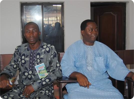 G.O. & One of the Senior Pastor(I. O. Alabi)