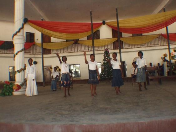 Children performance during Children Banquet